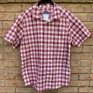 Patagonia Mens Go to Shirt Plaid Button Up